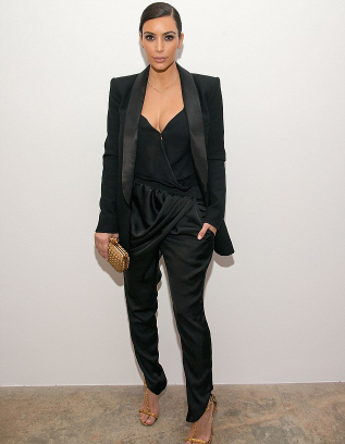 kim kardashian, tom ford, kimye, faithconnection, marianne williamson, celebrity, event, all black, black on black, back to black, black is the new black, kim k, kuwtk, bottega veneta, kanye, north